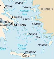 Isla De Rodas Mapa.Rodas La Isla Del Sol Guia Turistica De Grecia