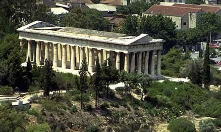 Ágora de Atenas. Guía turística de Atenas