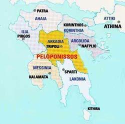 Resultado de imagen para region del peloponeso